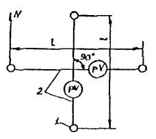 Рис 4 2 2 схема электрических измерений
